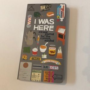 I Was Here Travel Journal - Brand New